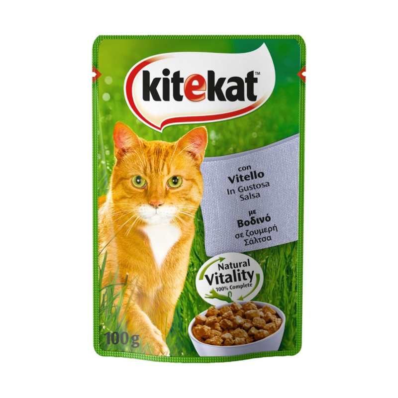 KITeKAT VITELLO IN SALSA BUSTA 100gr