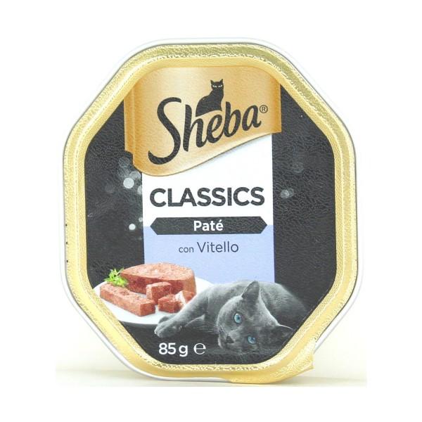 SHEBA PATE' VITELLO VASCHETTA 85 GR, NUTRIZIONE, S128488, 76407