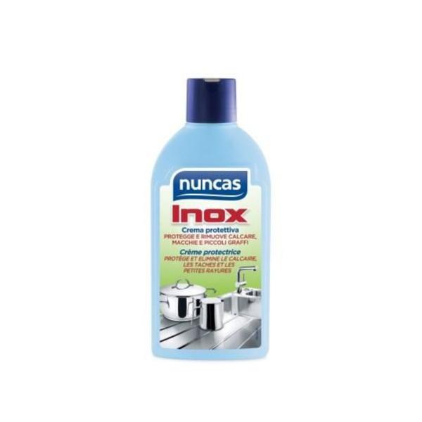NUNCAS INOX CREMA PROTETTIVA 250 ML., PULITORI METALLI, S128726, 76431