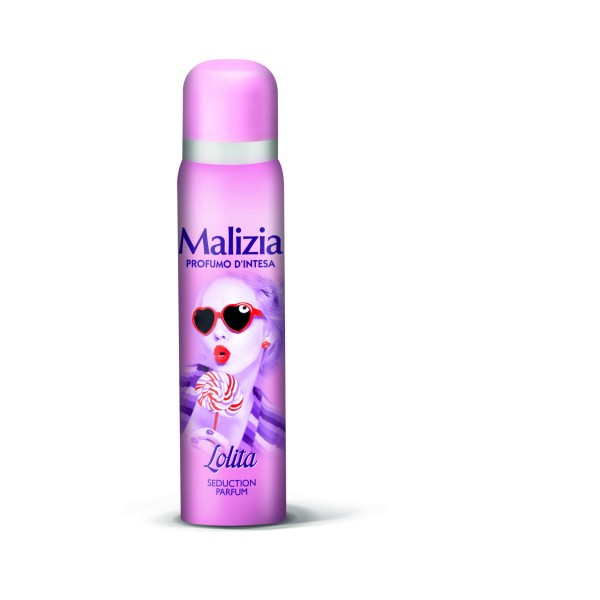 MALIZIA PROFUMO D'INTESA DEODORANTE SPRAY SEDUCTION LOLITA 100 ML, DEODORANTI ANTIODORE PER PERSONA, S128270, 76437