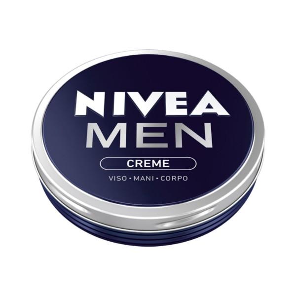 NIVEA FOR MEN CREMA VISO-MANI-CORPO 75 ML., CURA VISO UOMO, S128026, 76483