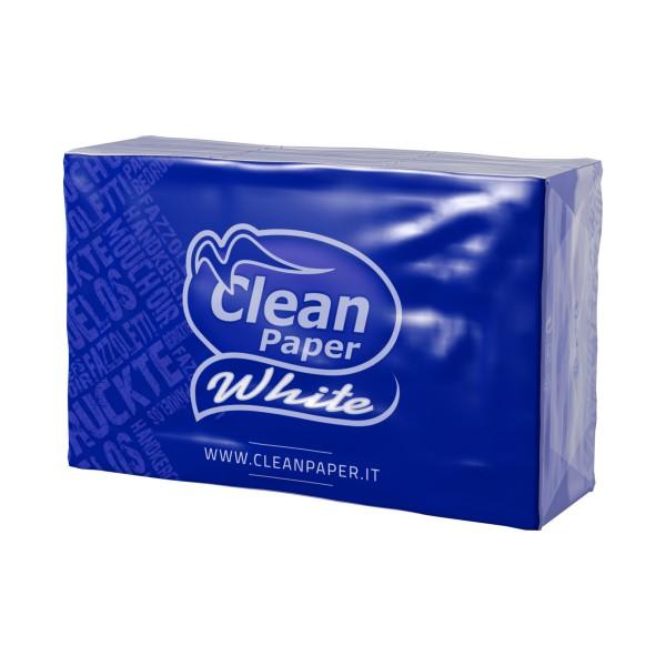 CLEAN PAPER WHITE 9 FAZZOLETTI 4 VELI x 6 PACCHETTI, FAZZOLETTI / VELINE, S126039, 76699