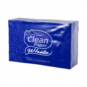 CLEAN PAPER WHITE 9 FAZZOLETTI 4 VELI x 6 PACCHETTI