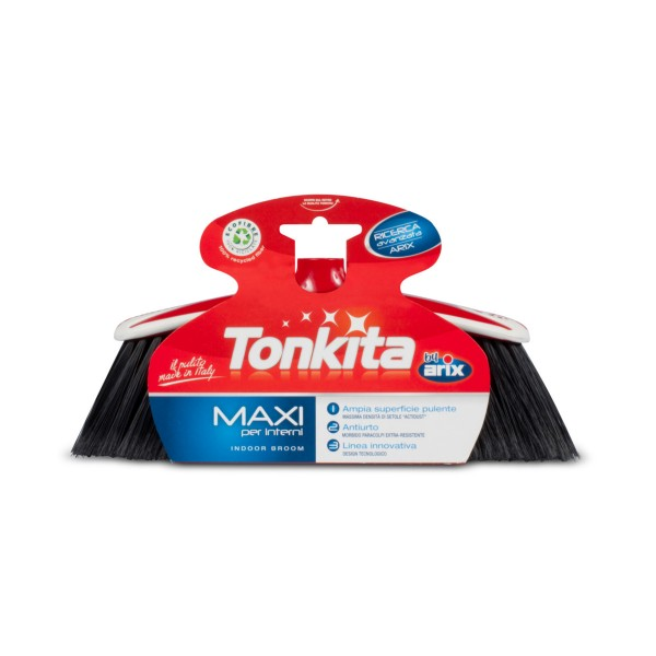 TONKITA SCOPA MAXI PER INTERNI , SCOPE / PANNI E ACCESSORI PAVIMENTI, S025760, 76708
