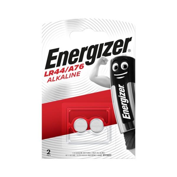 ENERGIZER LR44 1,5V ALKALINE BLISTER 2 PZ  BATTERIA, PILE, S125514, 76749