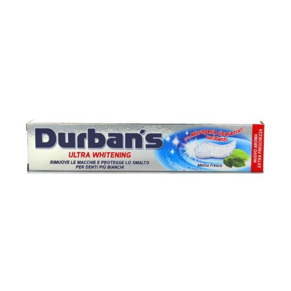 DURBAN'S DENTIFRICIO ULTRA WHITENING 75 ML., DENTIFRICI, S124669, 76815