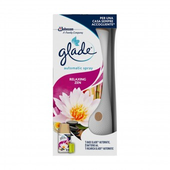 GLADE AUTOMATIC SPRAY BASE+RICARICA RELAXING ZEN 269 ML