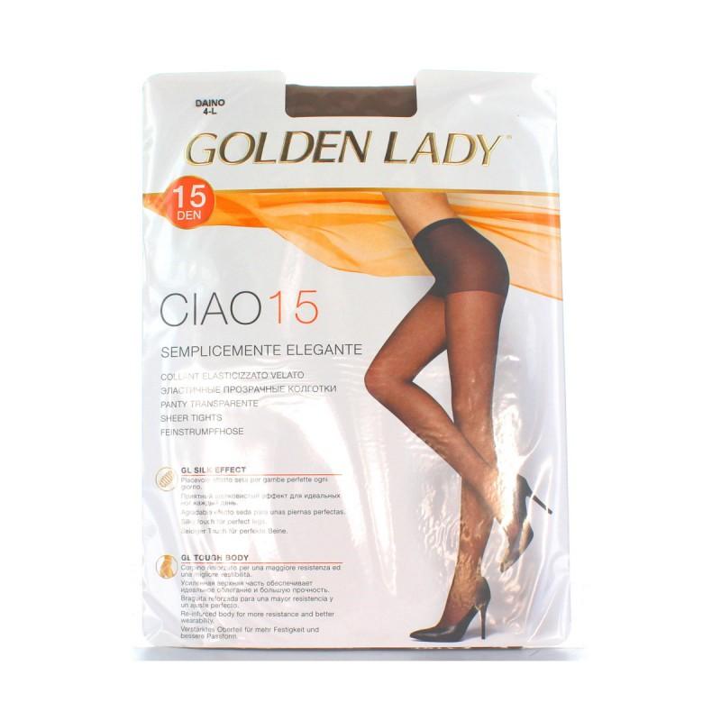 GOLDEN LADY CIAO COLLANT 15 DEN DAINO TAGLIA 4