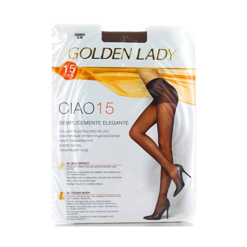 GOLDEN LADY CIAO COLLANT 15 DEN DAINO TAGLIA 3