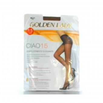 GOLDEN LADY CIAO COLLANT 15 DEN MELON TAGLIA 2