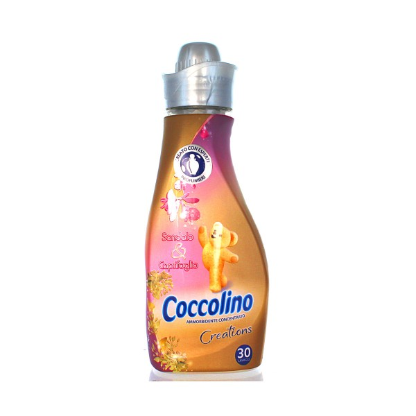 COCCOLINO CONCENTRATO 30 LAVAGGI SANDALO&CAPRIFOGLIO AMMORBIDENTE MINI, AMMORBIDENTI, S122443, 77044
