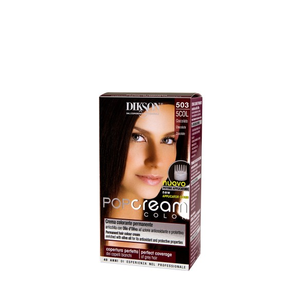 DIKSON POP CREAM COLOR CIOCCOLATO 503, COLORANTI, S122379, 77050