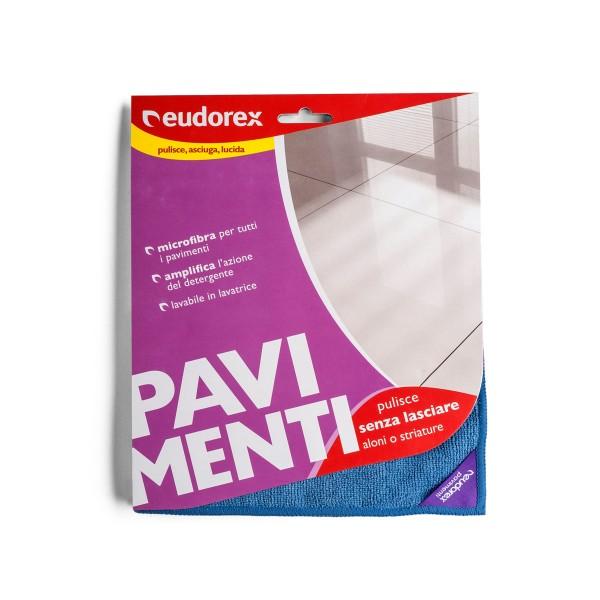EUDOREX PAVIMENTI PANNO MICROFIBRA 40x60, SCOPE / PANNI E ACCESSORI PAVIMENTI, S121850, 77105