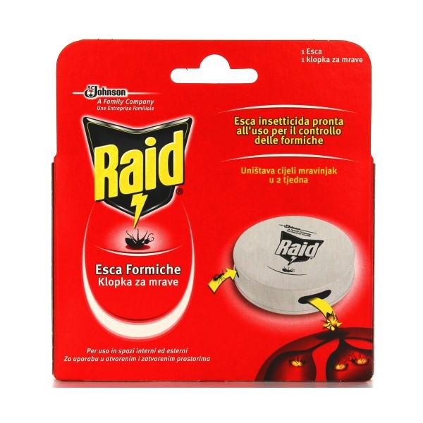 RAID INSETTICIDA ESCA FORMICHE 1 PZ, INSETTICIDI STRISCIANTI, S121336, 77205