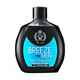 BREEZE DEODORANTE SQUEEZE MEN FRESH PROTECTION 100 ML