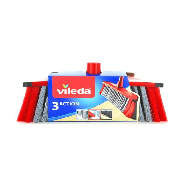 VILEDA SCOPA 3 ACTION FIBRE REVOLUTION  , SCOPE / PANNI E ACCESSORI PAVIMENTI, S118943, 77343