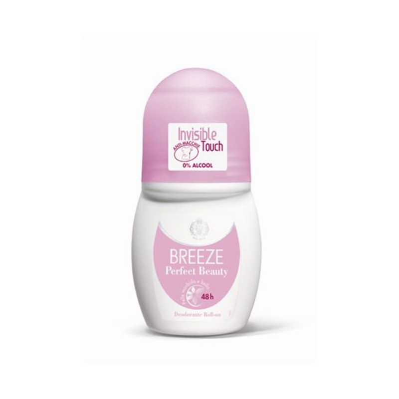 BREEZE DEODORANTE ROLL ON 48H PERFECT BEAUTY 50 ML