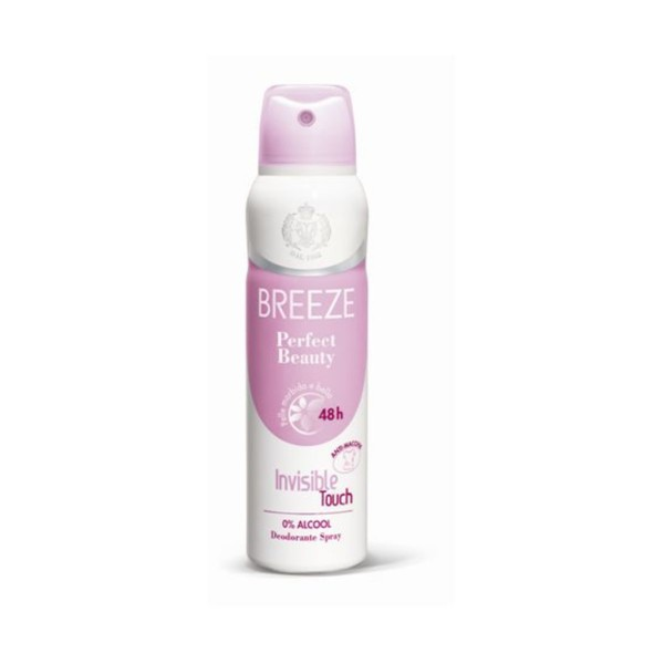 BREEZE DEODORANTE SPRAY 48H PERFECT BEAUTY 150 ML, DEODORANTI ANTIODORE PER PERSONA, S115455, 77587