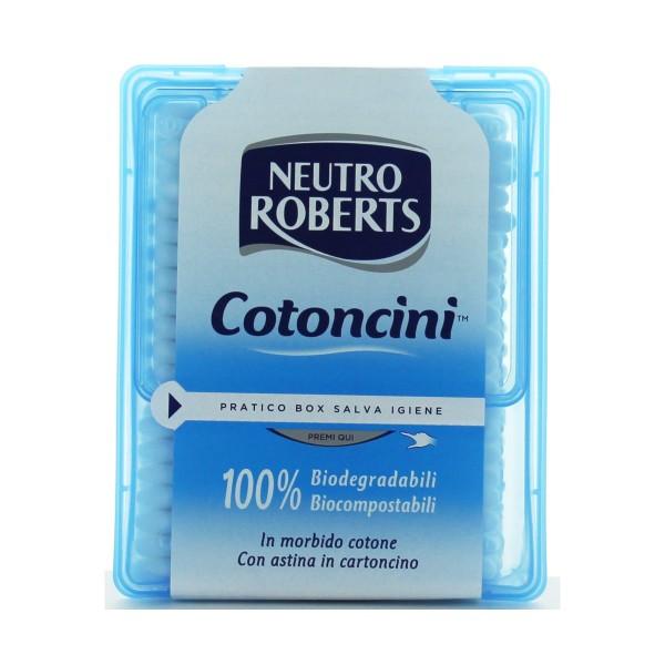 NEUTRO ROBERTS COTONCINI NETTAORECCHIE 260 PEZZI COTTON FIOC, BASTONCINI COTONE, S115421, 77590