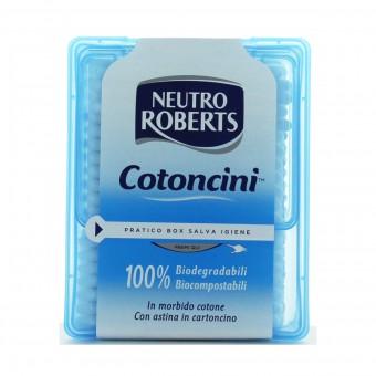 NEUTRO ROBERTS COTONCINI NETTAORECCHIE 260 PEZZI COTTON FIOC