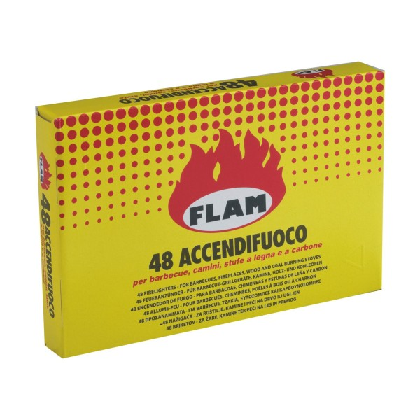 FLAM ACCENDIFUOCO 48 CUBETTI, ACCENDIFUOCO, S113550, 77692