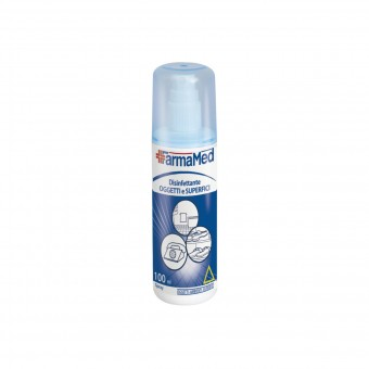 FARMAMED DISINFETTANTE SPRAY OGGETTI E SUPERFICI 100 ML.