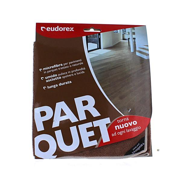 EUDOREX PANNO PARQUET MICROFIBRA 40x60, SCOPE / PANNI E ACCESSORI PAVIMENTI, S136647, 77959
