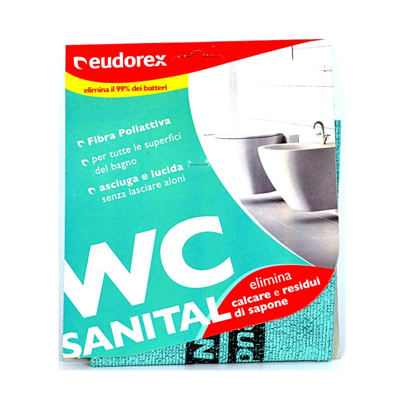 EUDOREX SANITAL WC PANNO MICROFIBRA 30x32