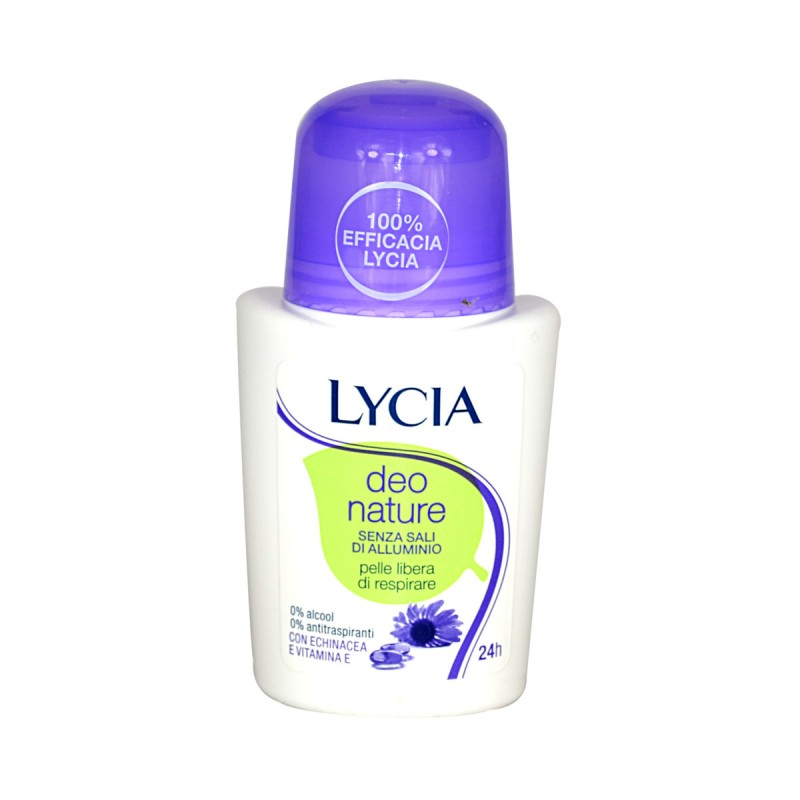 LYCIA DEO NATURE ROLL ON 24H 50 ML