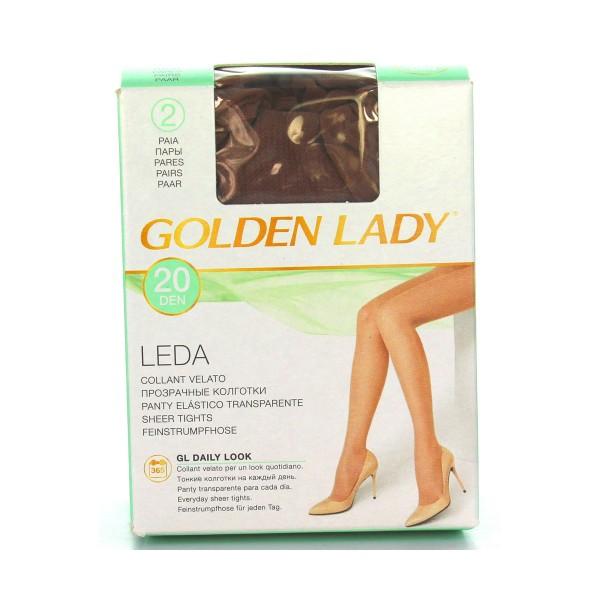 GOLDEN LADY LEDA 20 22A DAINO 2 PAIA TAGLIA 4    , CALZE, COLLANT & GAMBALETTI, S016611, 7817