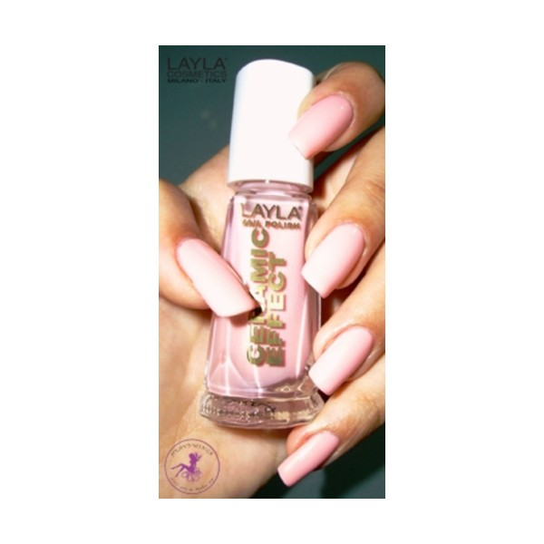 LAYLA SMALTO CERAMIC EFFECT 17 10 ML, UNGHIE, S092969, 78535