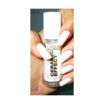 LAYLA SMALTO CERAMIC EFFECT 01 10 ML