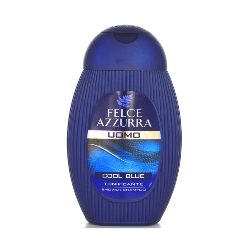 FELCE AZZURRA DOCCIASHAMPOO UOMO COOL BLUE250 ML