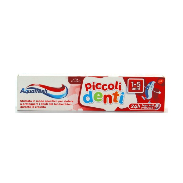 AQUAFRESH DENTIFRICIO PICCOLI DENTI 1-5 ANNI TUBO 50 ML, DENTIFRICI, S072959, 78843