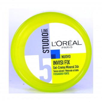 STUDIO LINE INVISI FIX GEL CREMA FISSAGGIO FORTE VASO 150 ML
