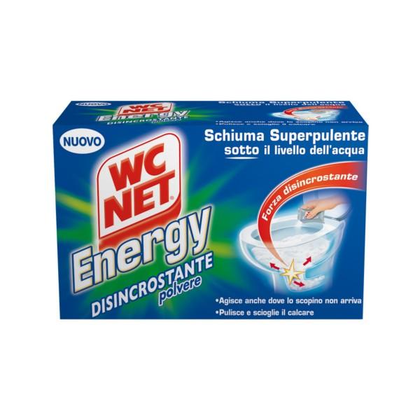 WC NET ENERGY POLVERE ATTIVA DISINCROSTANTE 4 BUSTE, CURA WC, S045186, 79032