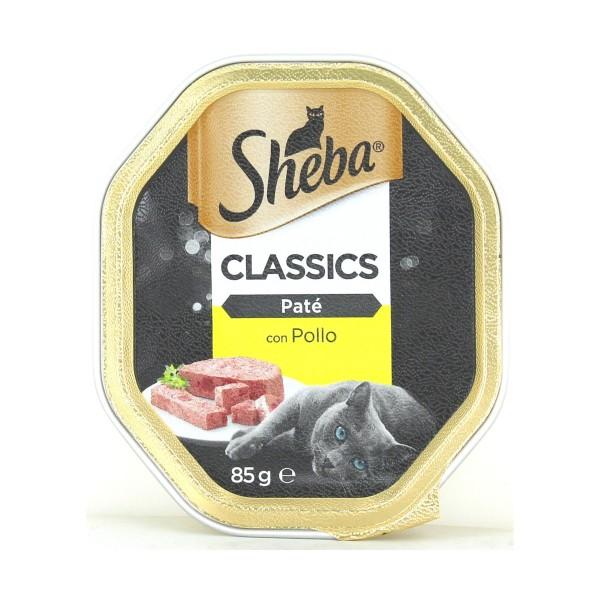 SHEBA PATE' POLLO VASCHETTA 85 GR, NUTRIZIONE, S128490, 79062