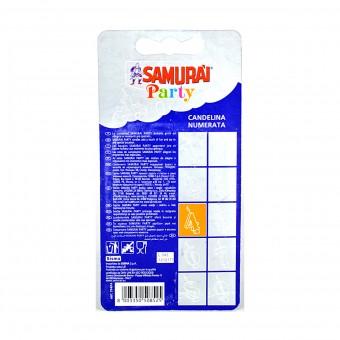 SAMURAI PARTY CANDELA COMPONIBILE N.4