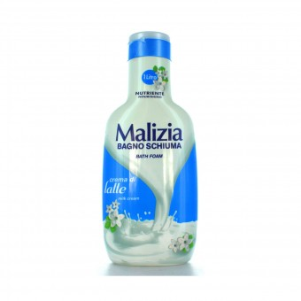 MALIZIA BAGNOSCHIUMA CREMA DI LATTE 1000 ML
