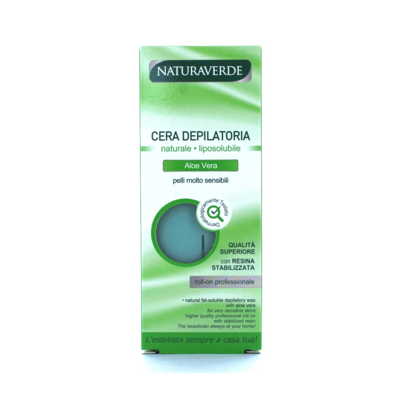 NATURAVERDE PROFESSIONAL CERA ROLL-ON ALOE VERA 100GR