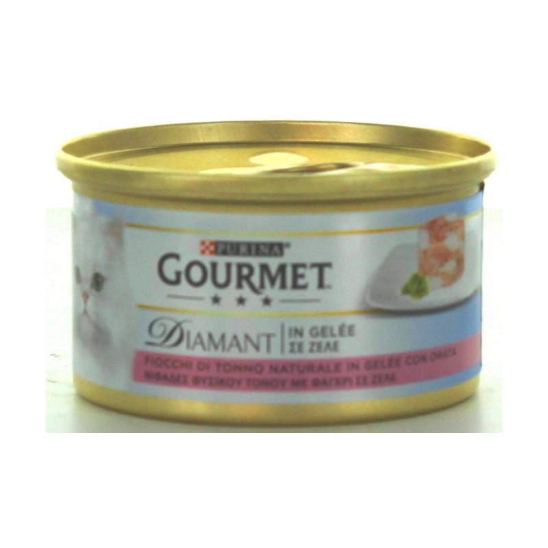 GOURMET DIAMANT TONNO E GELEE DI ORATA GR.85