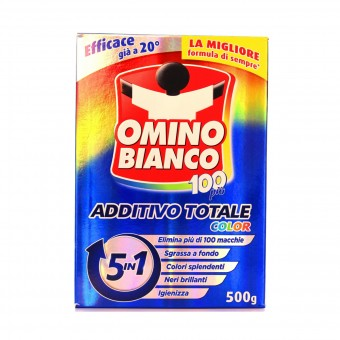OMINO BIANCO ADDITIVO COLOR 100 PIU' 5 IN 1 500 GR