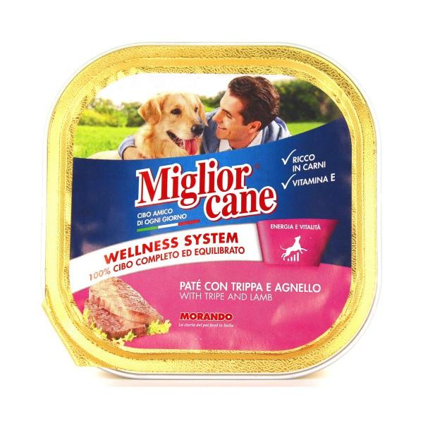 MIGLIOR CANE PATE' TRIPPA-AGNELLO VASCHETTA 300 GRAMMI, NUTRIZIONE, S038559, 79612