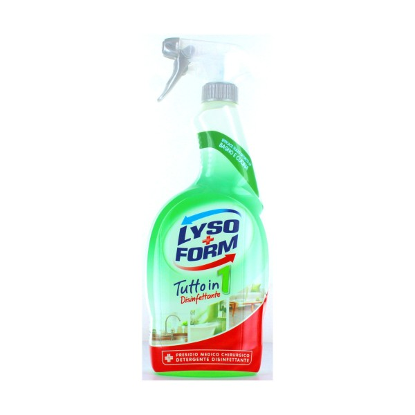 "LYSOFORM CASA SPRAY ""TUTTO IN 1"" 750 ML., SGRASSATORI/PICCOLE SUPERFICI, S037978, 79660"