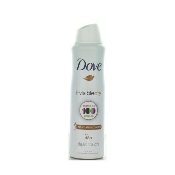 DOVE DEODORANTE SPRAY INVISIBLE DRY 150 ML, DEODORANTI ANTIODORE PER PERSONA, S037455, 79674
