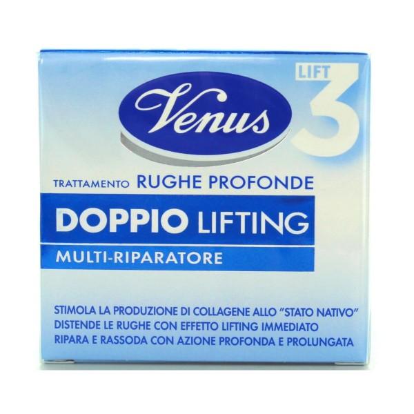 VENUS CREMA ANTIRUGHE DOPPIO LIFTING 50 ML, CURA VISO DONNA, S037415, 79677