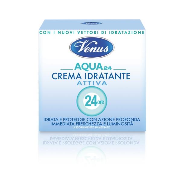 VENUS CREMA AQUA 24 ATTIVA IDRATANTE 50 ML, CURA VISO DONNA, S037414, 79679