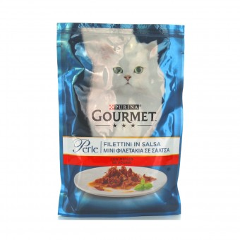 GOURMET PERLE FILETTINI MANZO GR.85