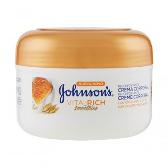 JOHNSON'S CREMA CORPO MIELE E YOGOURT 200 ML