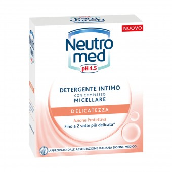 NEUTROMED DETERGENTE INTIMO DELICATEZZA PH 4.5 200 ML